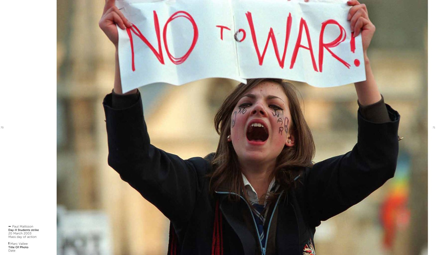 Stop the War Photograph