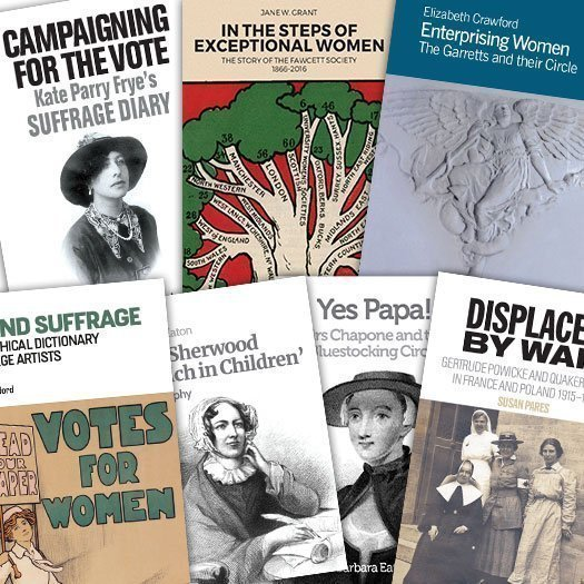 Pioneering Women Book Cover Montage