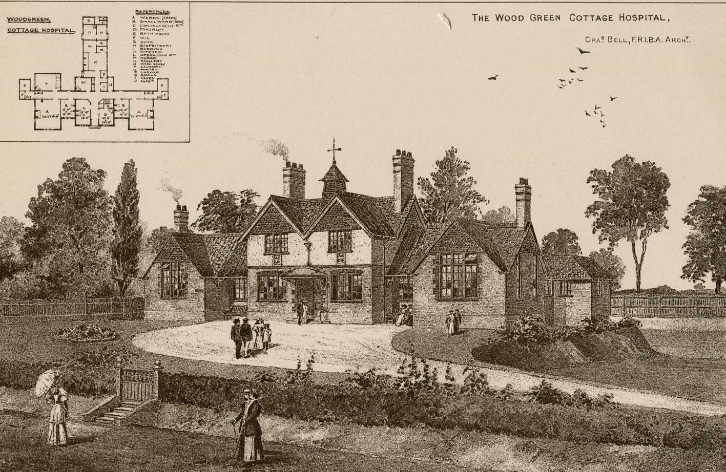 Passmore Edwards' Wood Green Cottage Hospital