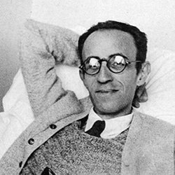 Portrait of Catalan poet Màrius Torres